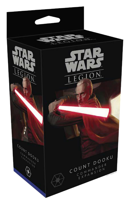 Star Wars: Legion - Count Dooku Commander Expansion Game Box