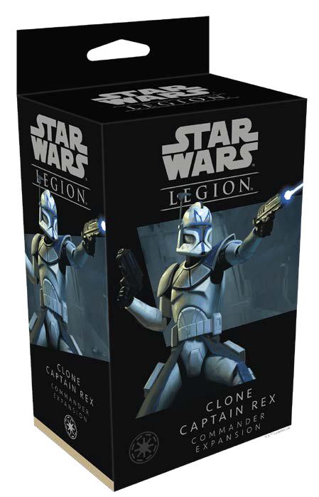 Star Wars: Legion - Clone Captain Rex Commander Expansion Game Box
