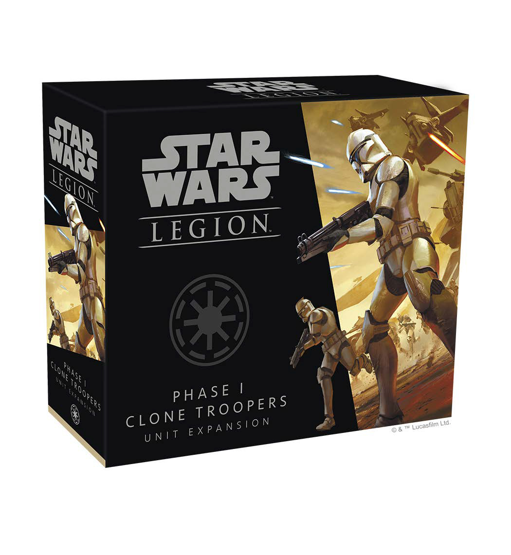 Star Wars: Legion - Phase I Clone Troopers Unit Expansion Game Box