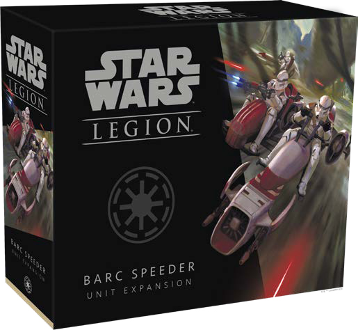 Star Wars: Legion - Barc Speeder Unit Expansion Game Box