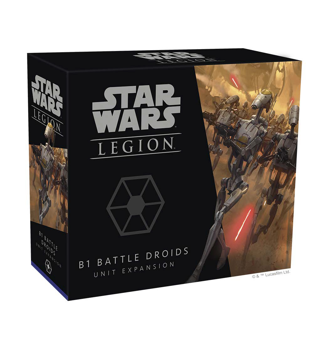 Star Wars: Legion - Battle Droids Unit Expansion Game Box