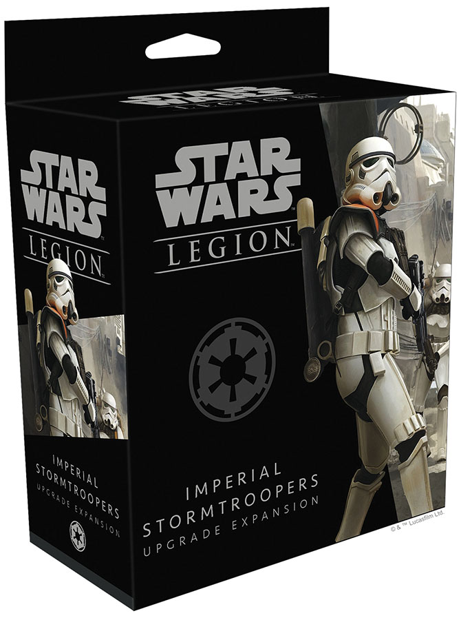 Star Wars: Legion - Imperial Stormtroopers Upgrade Expansion Game Box