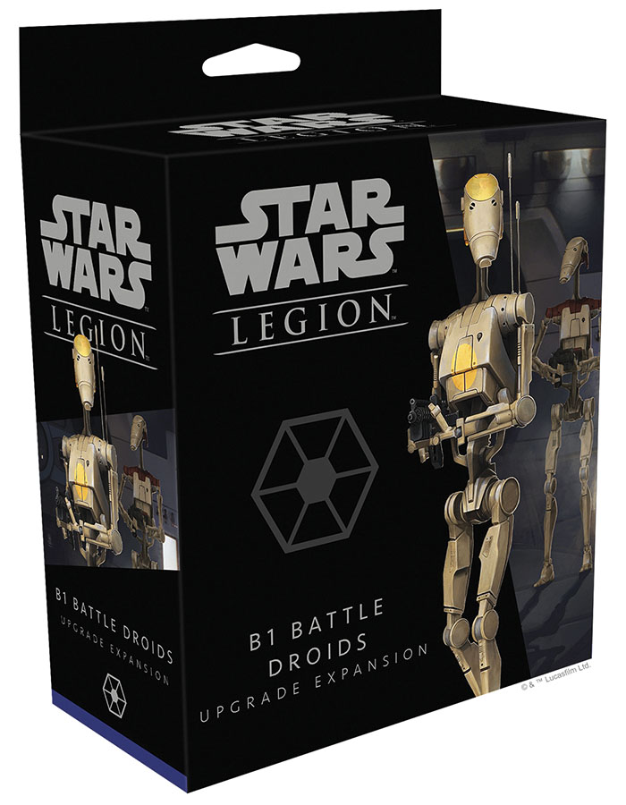 Star Wars: Legion - B1 Battle Droids Upgrade Expansion Game Box
