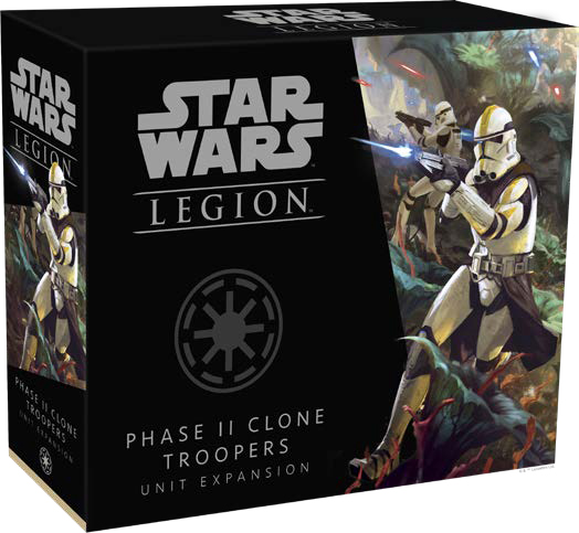 Star Wars: Legion - Phase Ii Clone Troopers Unit Expansion Game Box