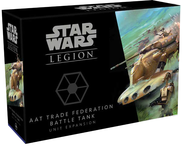 Star Wars: Legion - Aat Trade Federation Battle Tank Unit Expansion Game Box