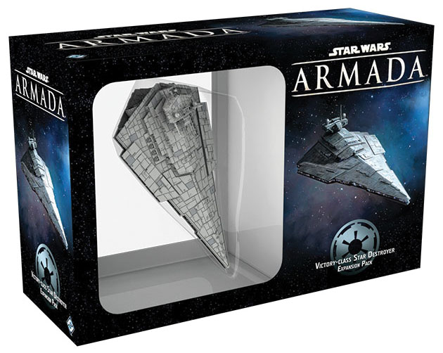 Star Wars Armada: Victory-class Star Destroyer Expansion Pack Box Front