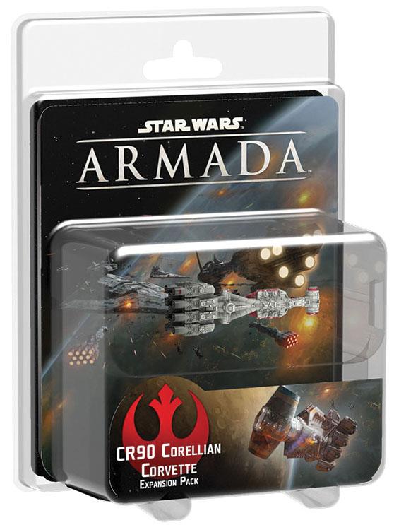 Star Wars Armada: Cr90 Corellian Corvette Expansion Pack Box Front