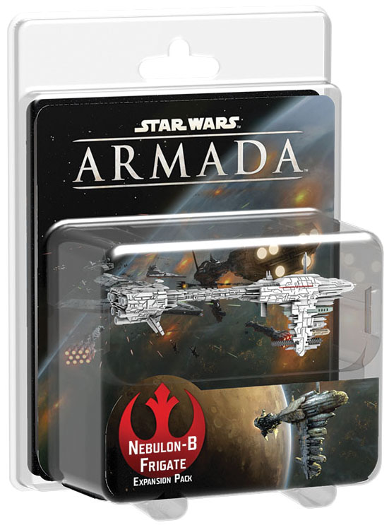Star Wars Armada: Nebulon-b Frigate Expansion Pack Box Front