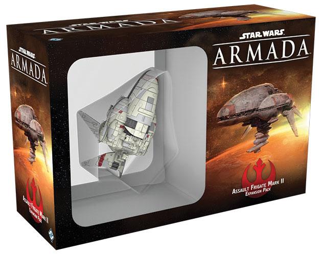 Star Wars Armada: Assault Frigate Mark Ii Expansion Pack Box Front