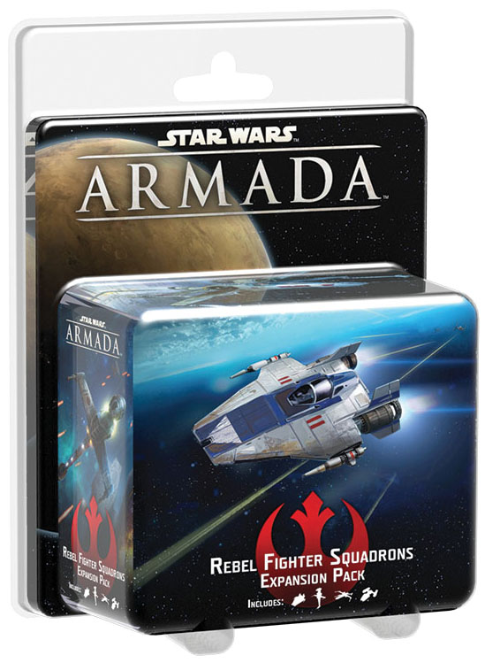 Star Wars Armada: Rebel Fighter Squadrons Expansion Pack Box Front