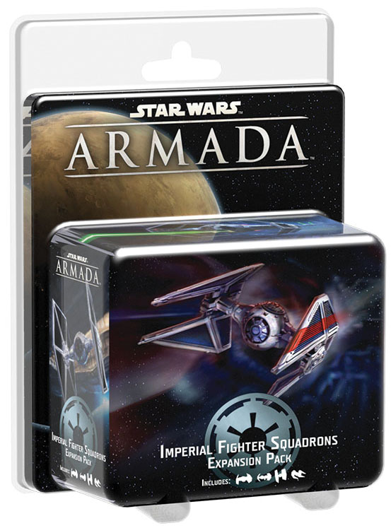 Star Wars Armada: Imperial Fighter Squadrons Expansion Pack Box Front