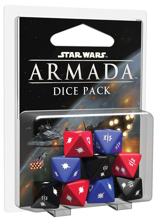 Star Wars Armada: Dice Pack Box Front