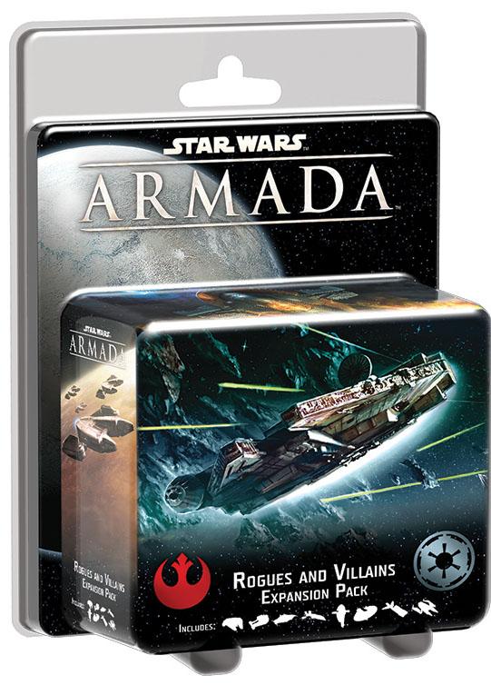 Star Wars Armada: Rogues And Villains Expansion Pack Box Front