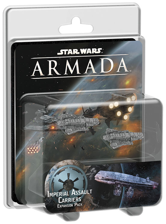 Star Wars Armada: Imperial Assault Carriers Expansion Pack Box Front