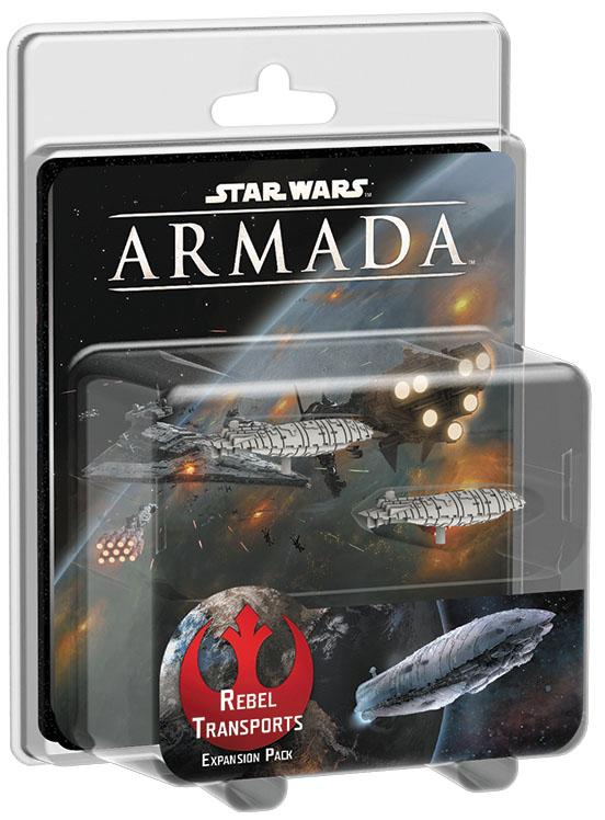 Star Wars Armada: Rebel Transports Expansion Pack Box Front