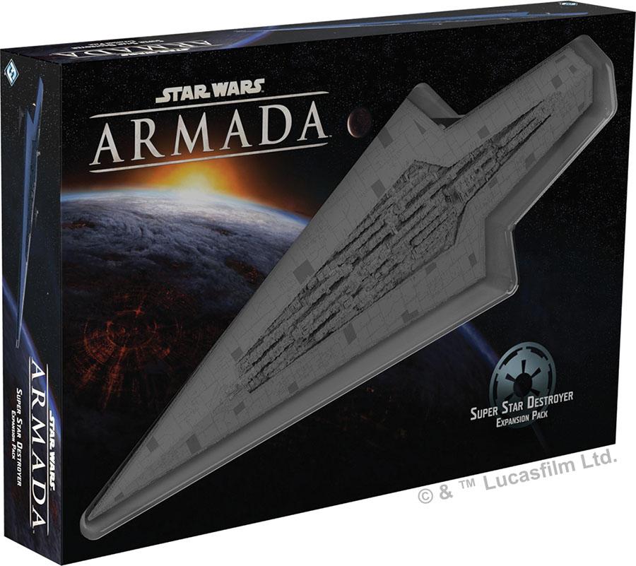 Star Wars Armada: Super Star Destroyer Expansion Pack Game Box