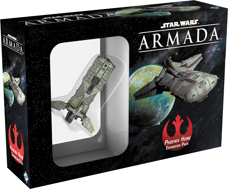 Star Wars Armada: Phoenix Home Expansion Pack Box Front