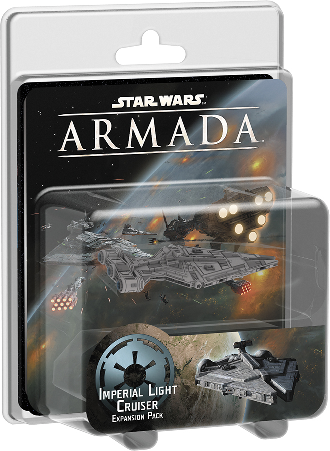 Star Wars Armada: Imperial Light Cruiser Expansion Pack Box Front