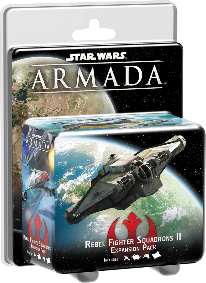 Star Wars Armada: Rebel Fighter Squadrons Ii Expansion Pack Box Front