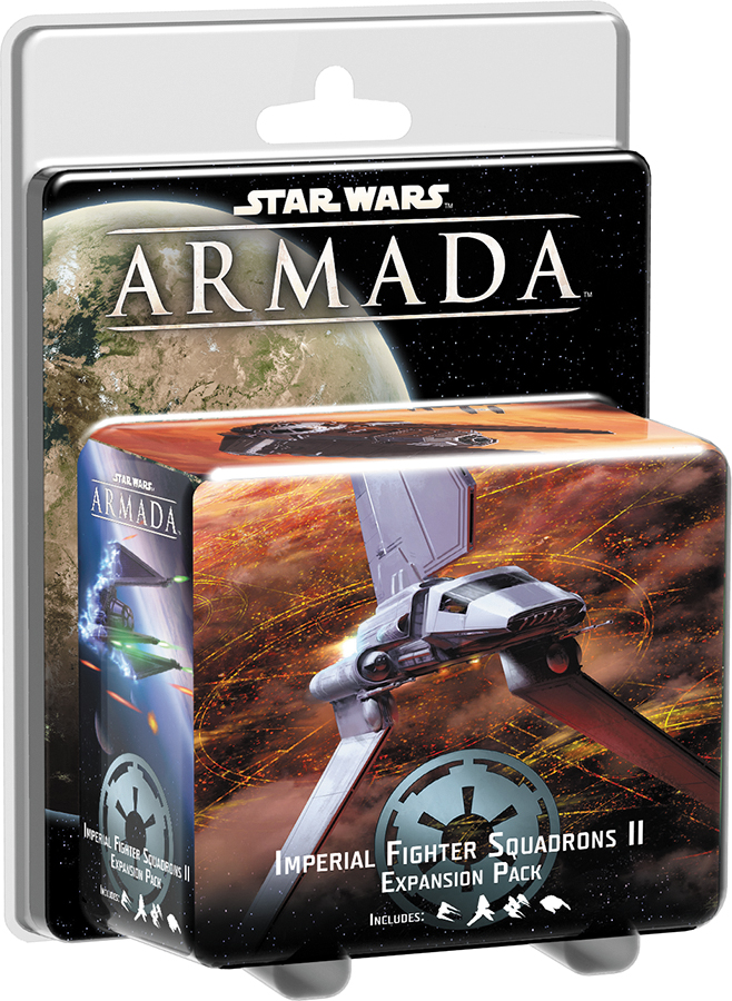 Star Wars Armada: Imperial Fighter Squadrons Ii Expansion Pack Box Front