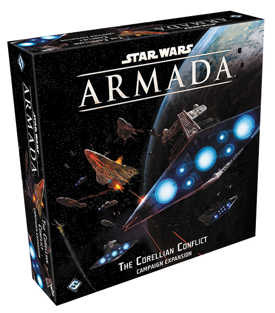 Star Wars Armada: The Corellian Conflict Campaign Expansion Box Front