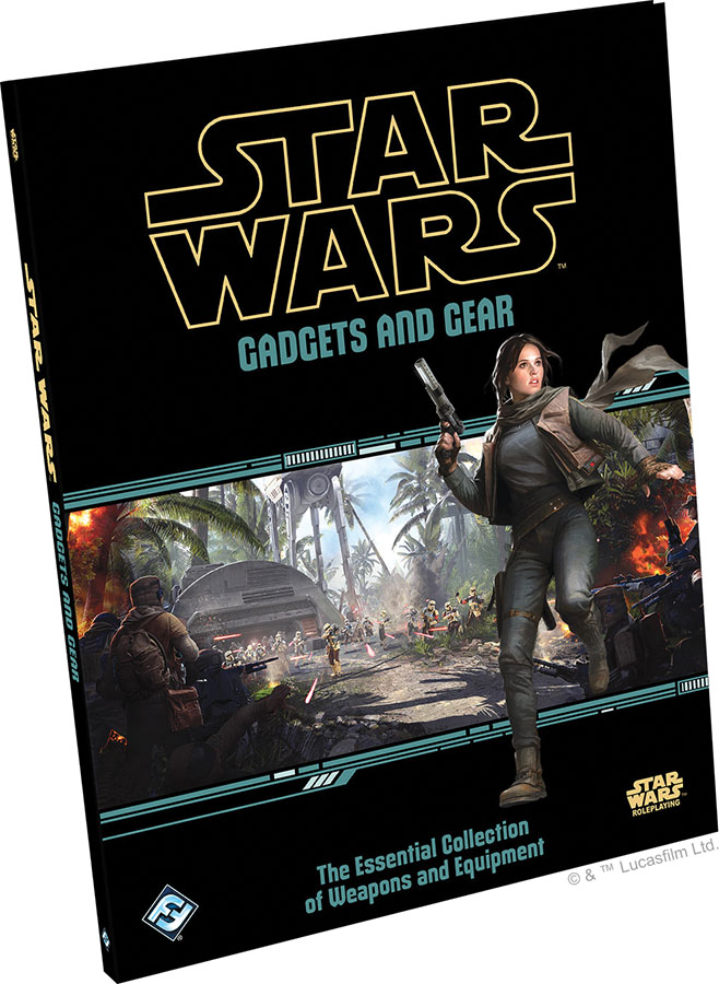 Star Wars Rpg: Gadgets And Gear Hardcover Game Box