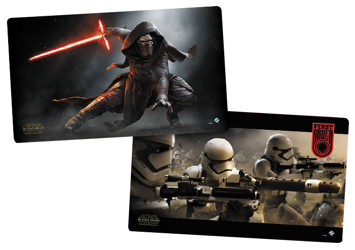 Star Wars Lcg: The Force Awakens First Order Gaming Mat Box Front