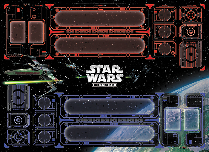 Star Wars Lcg: Galactic Conflict Two-player Playmat Box Front