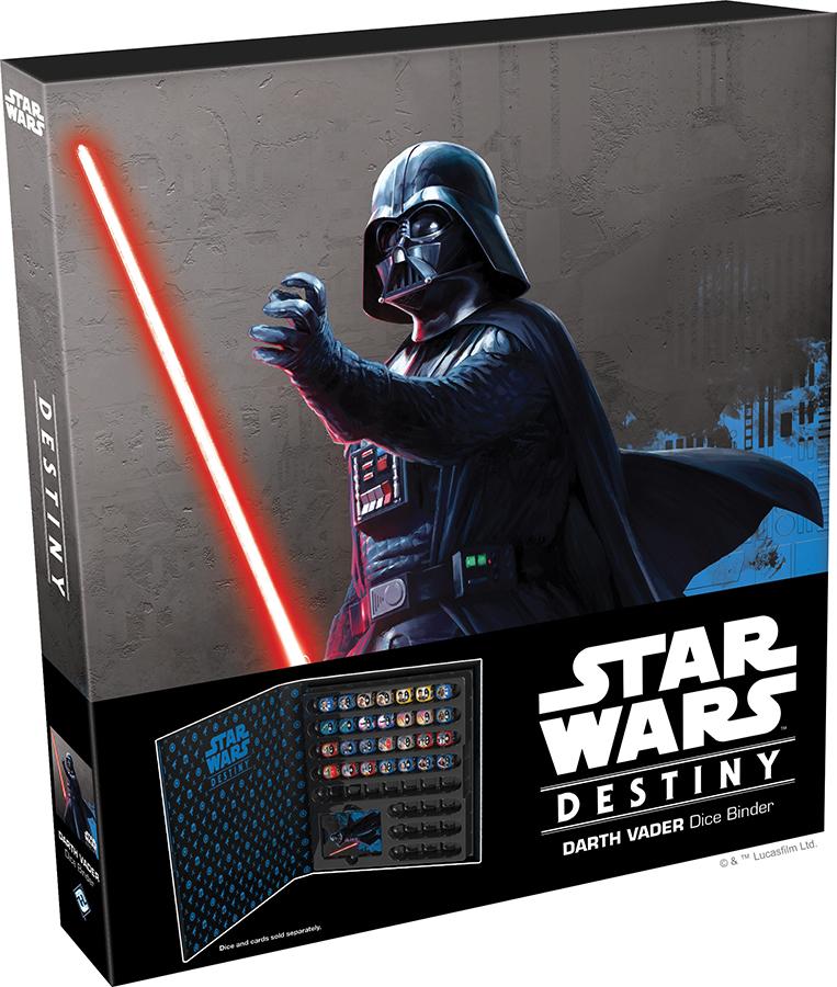 Star Wars Destiny: Darth Vader Dice Binder Box Front