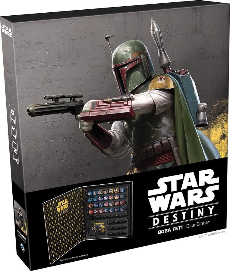 Star Wars Destiny: Boba Fett Dice Binder Box Front