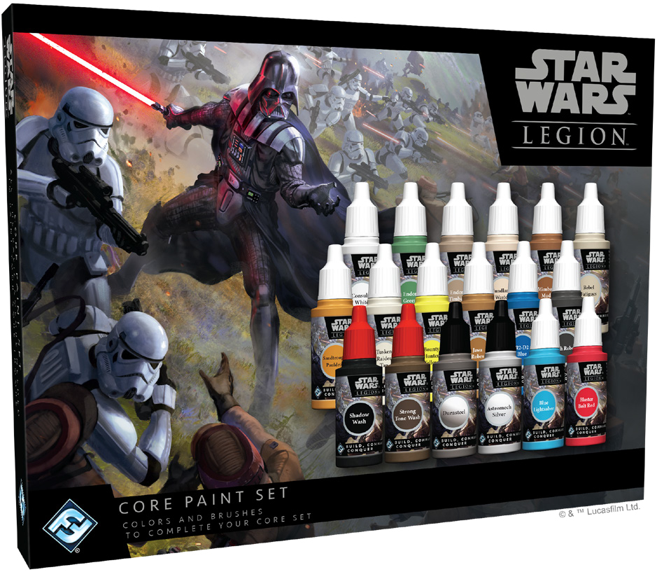 Star Wars: Legion - Core Paint Set Game Box