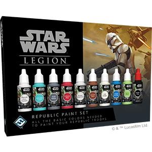 Star Wars: Legion - Republic Paint Set