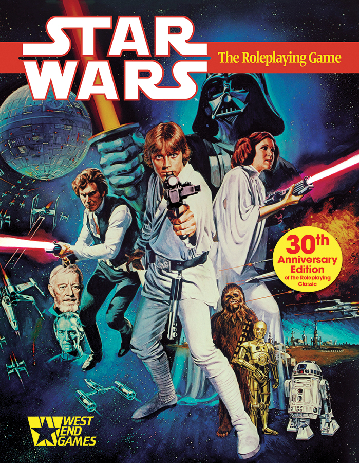 Star Wars: The Roleplaying Game 30th Anniversary Edition Box Front