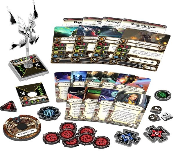 Star Wars X-wing Miniatures Game: Starviper Expansion Pack Box Front