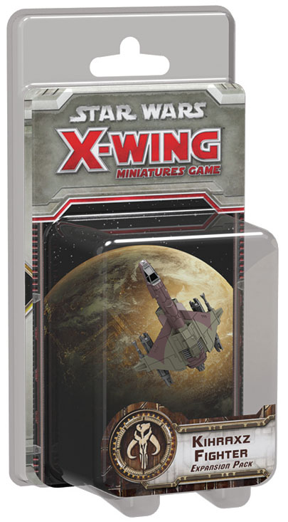 Star Wars X-wing Miniatures Game: Kihraxz Fighter Expansion Pack Box Front