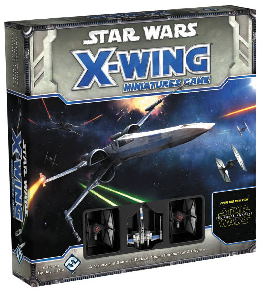 Star Wars X-wing Miniatures Game: The Force Awakens - Core Set Box Front