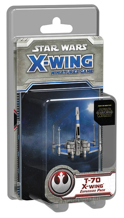 Star Wars X-wing Miniatures Game: The Force Awakens - T-70 X-wing Expansion Pack Box Front
