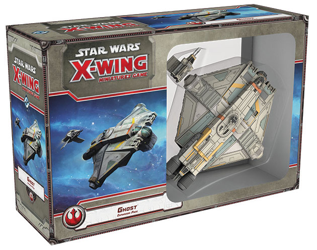 Star Wars X-wing Miniatures Game: Ghost Expansion Pack Box Front