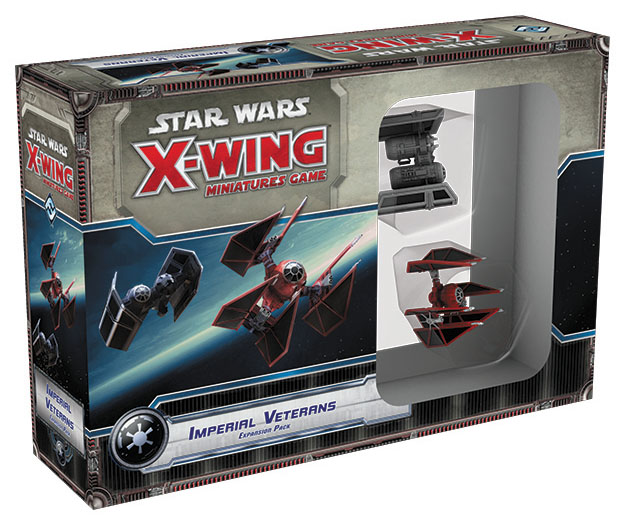 Star Wars X-wing Miniatures Game: Imperial Veterans Expansion Pack Box Front