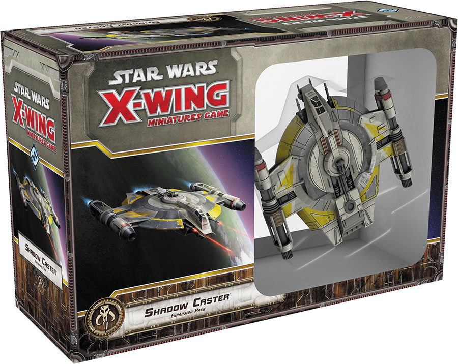 Star Wars X-wing Miniatures Game: Shadow Caster Expansion Pack Box Front