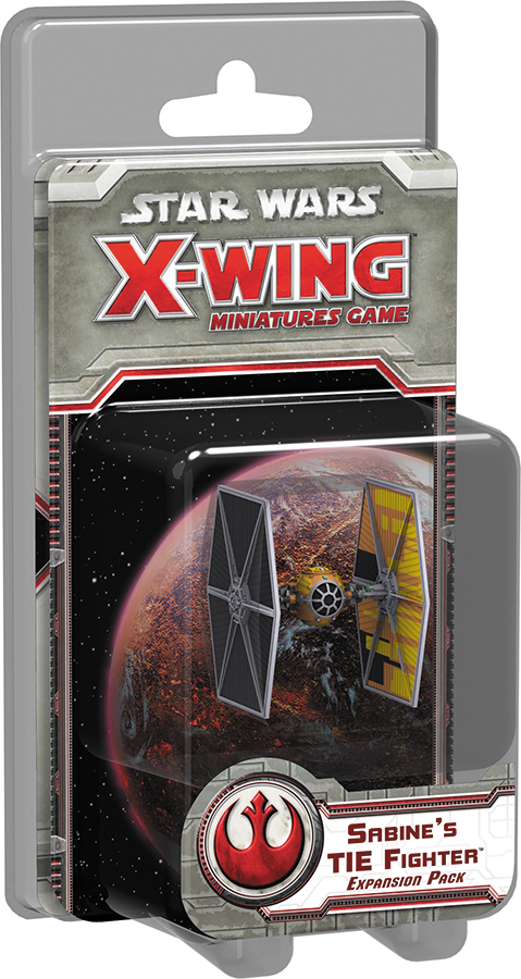 Star Wars X-wing Miniatures Game: Sabine`s Tie Fighter Expansion Pack Box Front
