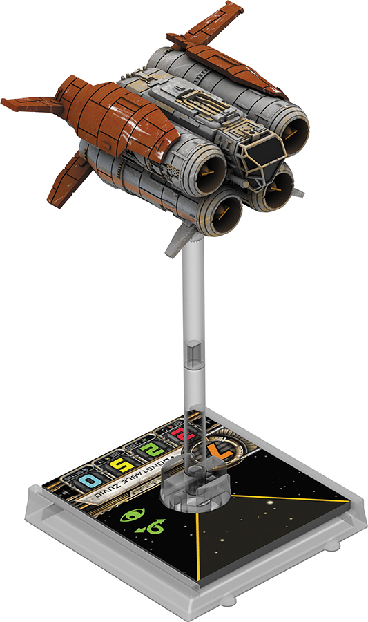 Star Wars X-wing Miniatures Game: The Force Awakens - Quadjumper Expansion Pack Box Front