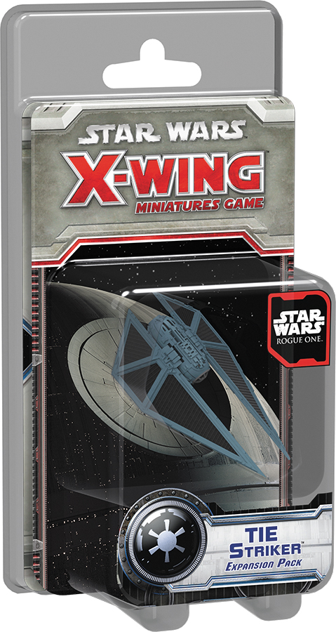 Star Wars X-wing Miniatures Game: Rogue One - Tie Striker Expansion Pack Box Front