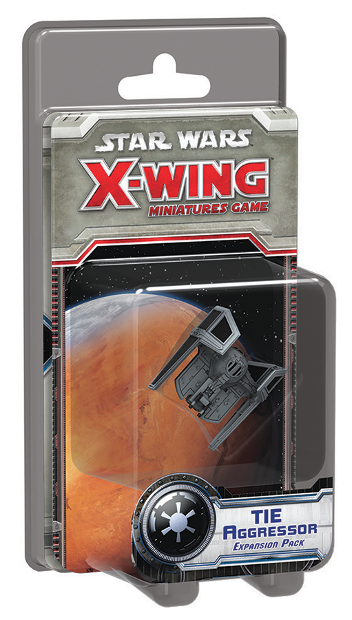 Star Wars X-wing Miniatures Game: Tie Aggressor Expansion Pack Box Front