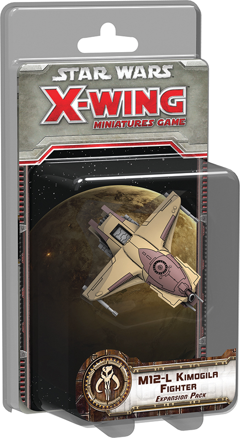 Star Wars X-wing Miniatures Game: M12-l Kimogila Fighter Expansion Pack Box Front