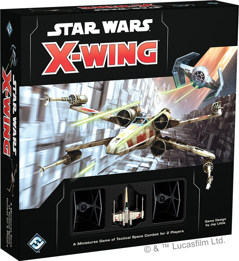 Star Wars X-wing: 2nd Edition - Core Set Box Front