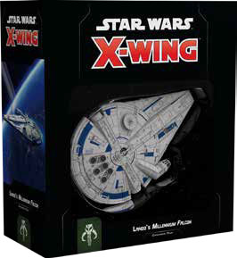 Star Wars X-wing: 2nd Edition - Lando`s Millenium Falcon Expansion Pack Box Front