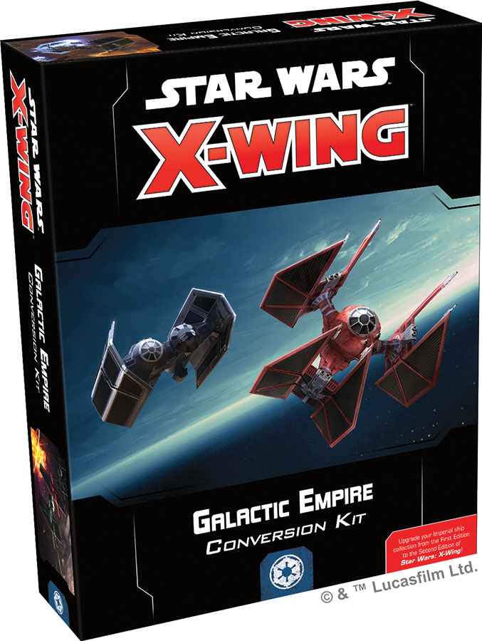Star Wars X-wing: 2nd Edition - Galactic Empire Conversion Kit Box Front