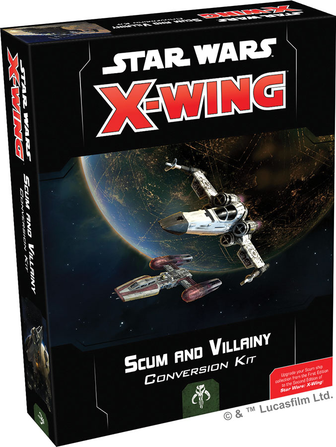 Star Wars X-wing: 2nd Edition - Scum And Villainy Conversion Kit Box Front