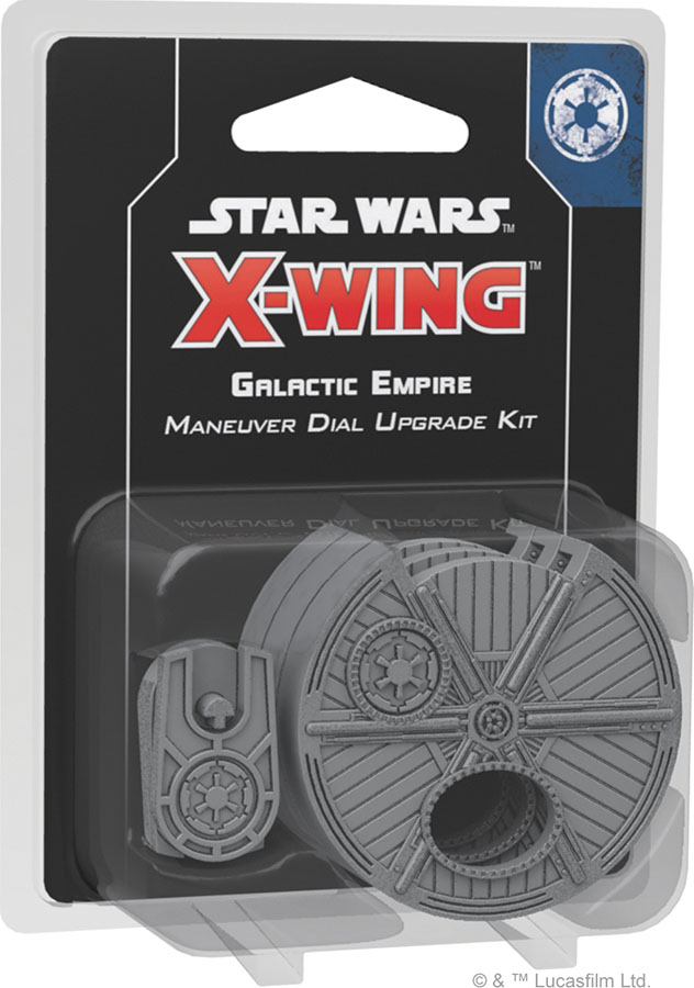 Star Wars X-wing: 2nd Edition - Galactic Empire Maneuver Dial Upgrade Kit Box Front